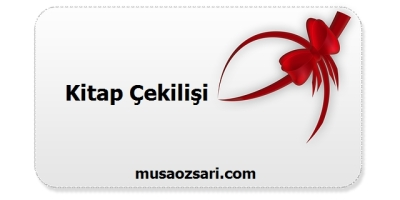 kitap cekilisi musaozsari.com