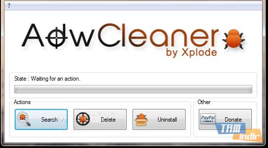 AdwCleaner Zararlı Yazılım Temizleme Programı