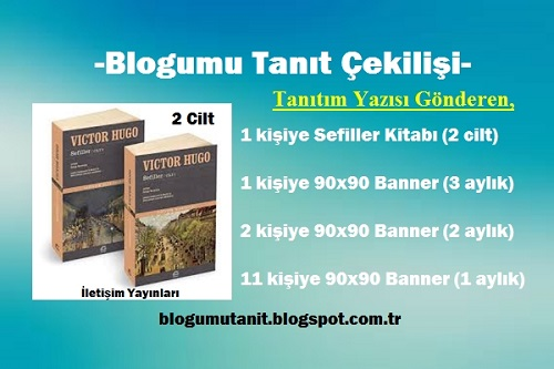 Blogunu Tanıtana Sefiller Kitabı, Banner Reklam, Backlink Hediye