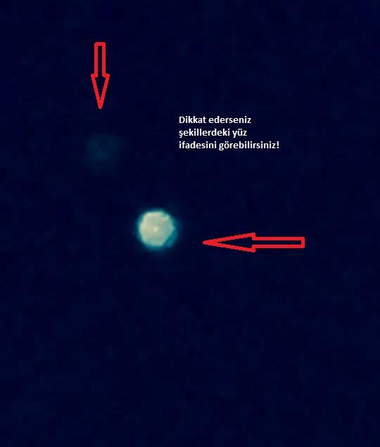 Nasa Canlı Yayını Kestiği Sırada Kütahya'da Ufo Görüntüsü Yakaladık