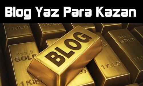 blog yaz para kazan