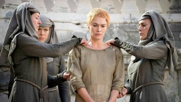 cercei lannister utanc yuruyusu 5.sezon