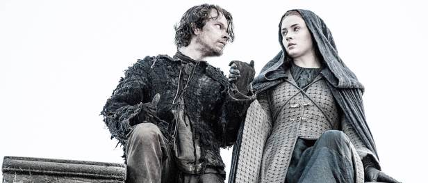 sansa ve theon game of thrones