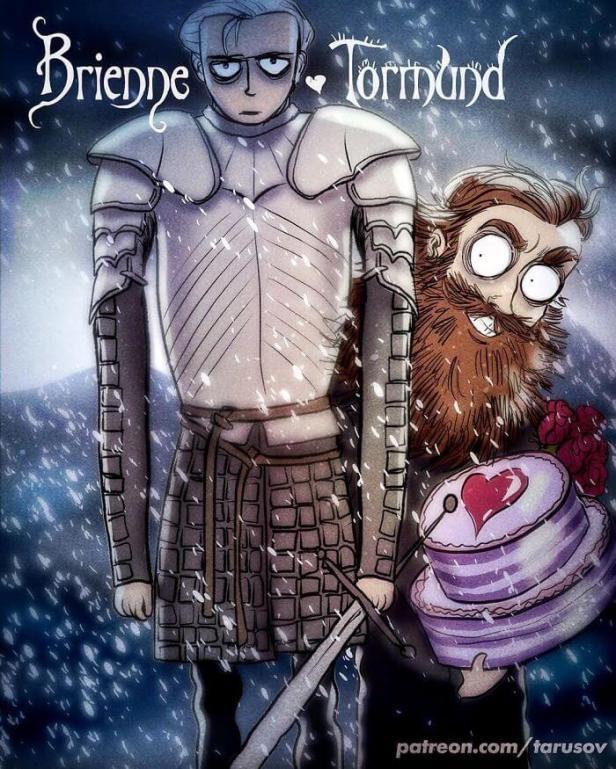 Brienne & Tormund