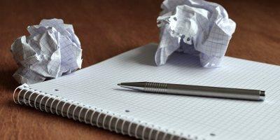 yazamamak